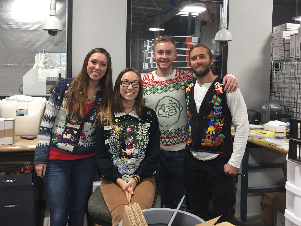 jewel craft ugly sweater party